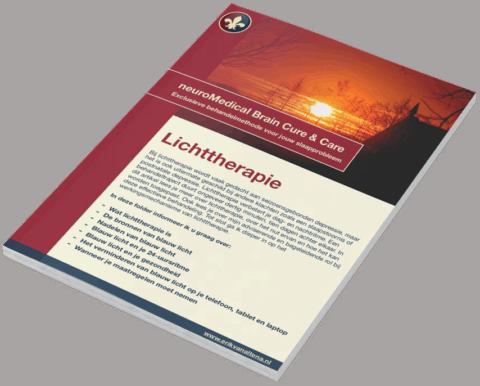 Folder Lichttherapie